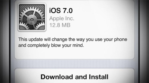 Get Ready to Update Your iphone to iOS 7