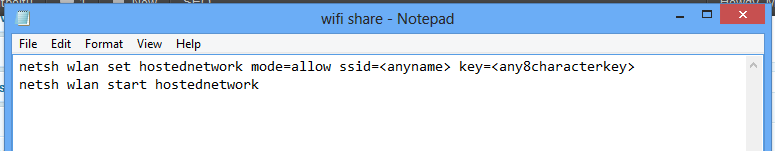 wifishare notepad